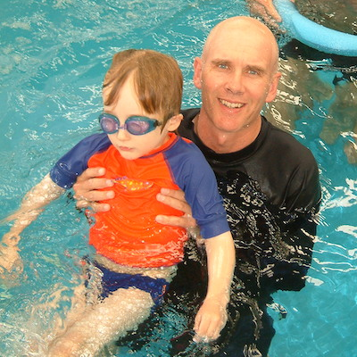 Being a Dad - Swimming lessons