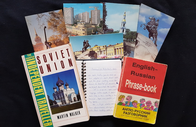 Travel Journal Writing Memorabilia
