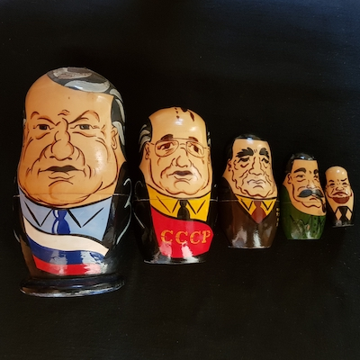 Russian Leaders dolls (1993-1917)