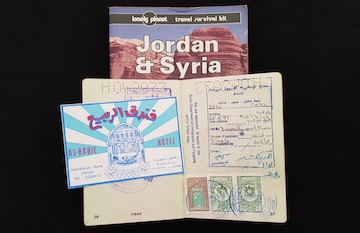 Syrians Love Peace - 1995 travels