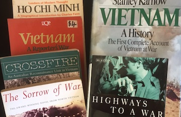 Vietnam War Books Collection